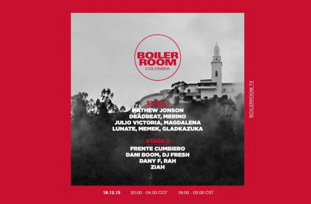 Mathew Jonson Live @ Boiler Room Bogota